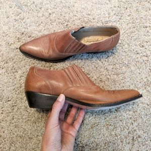 Seychelles Vintage Western Leather Ankle Booties